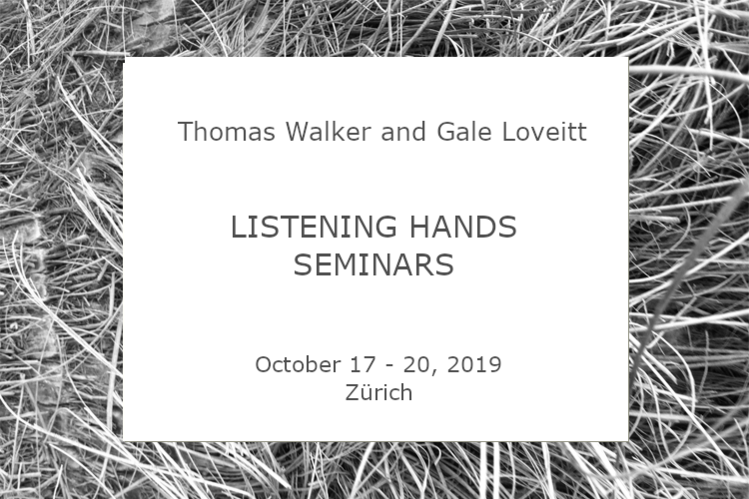 Thomas Walker and Gale Loveitt - Listening Hands 2019